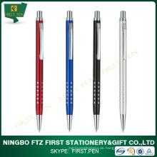 Schlanke Aluminium-Klick-Werbe-Stift