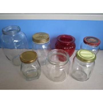 Glass Jar, Glass Honey Bottle