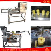Stainless Steel Electric Pineapple Fruit Corer Slicer Peeling Machine
