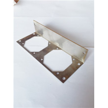 Sheet metal laser cutting plate aluminum lens holder
