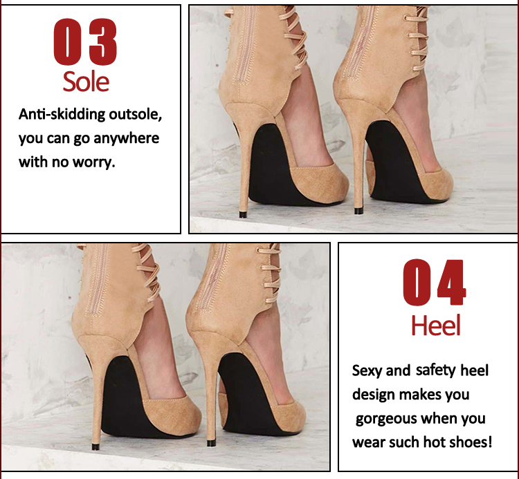 balck genuine stiletto heel shoes