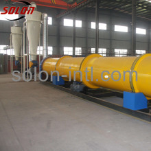 Palm fiber sawdust rotary drum dryer