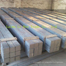 Ss400 ASTM A36 S20c 1020 Barra de aço quadrada suave