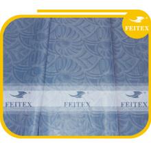 Moda africana de alta calidad brocado ghalila algodón bazin shadda proveedor de China Feitex