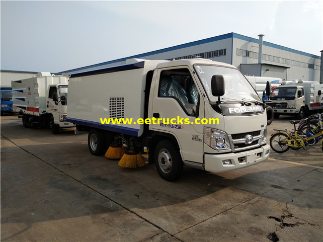 Foton 4000 Litres Mini Street Sweepers