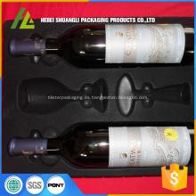 caja de empaquetado del vino reúne