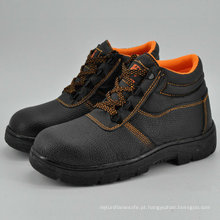 Sapatas de segurança baratas Ufe003 da empilhadeira do tampão do dedo do pé do ferro
