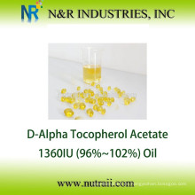 D acetato de alfa tocoferilo Aceite 1360IU