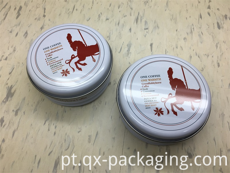 Round tin cans wholesale
