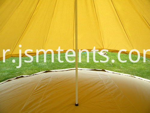 Family Bell Tents party in garden