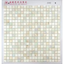 Mosaico Shell con mosaico de vidrio