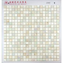 Mosaic Shell with Glass Mosaic