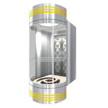 Sicherer 630kg panoramischer Aufzug mit der Maschine Raumlos