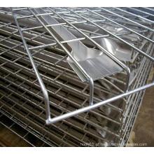 Armazém Storage Rack e Prateleira Usando Wire Mesh Deck