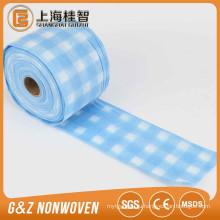 Ткань spunlace Non сплетенная ткань для печати влажные салфетки/кухня салфетки