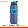 Colorido manga doble de la pared de vacío 32 oz botella de agua de acero inoxidable