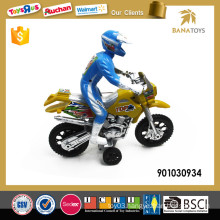 Off road racing games toy motor bike with figure