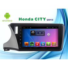 Sistema de Android GPS de navegación de coches DVD para Honda City 10.1inch Capacitancia pantalla con WiFi / TV / Bluetooth