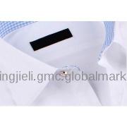 Man business shirt white slim fit