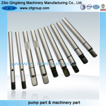 Machining Parts Mining Industry Pump Shaft para la venta