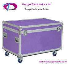 Large Road Trunk Flight Case with Wheels