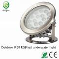 Outdoor IP68 RGB led underwater light
