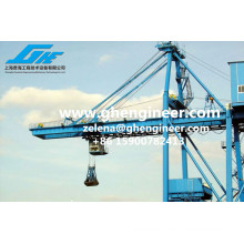 Grab Bucket Ship Unloader Ship to Shore Loading Crane