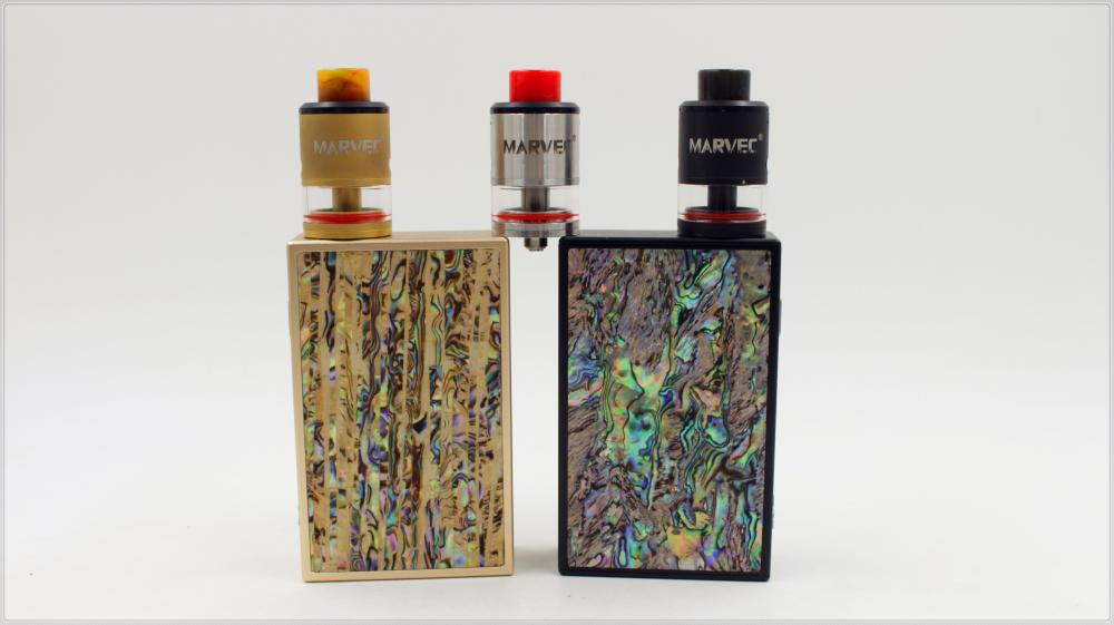 Marvec 218W Box Vape Kit mit Dual 18650