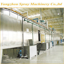 Linha de pintura automática de alta qualidade com forno de secagem