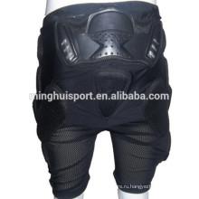 Безопасное и модное коньках и лыжные брюки мотоцикл брюки Хип протектор колодки