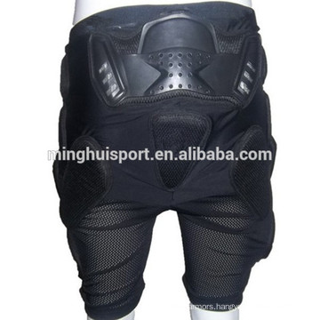 Automatic Motorcycle pants for ski/skate short sport trousers padded