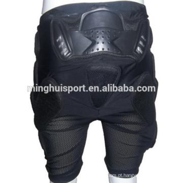 Calças automáticas de motos para esqui / skate curto calça esportiva acolchoada