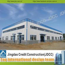 Construction en acier de construction Bâtiment en entrepôt d'usine