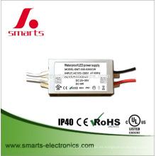 9w mini conductor de luces led electrónico constante impermeable a prueba de agua