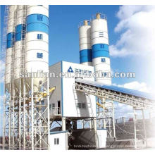 Planta de mistura de concreto modificado com cimento