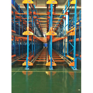 Q235B Durable heavy duty used industrial steel warehouse racking with CE / ISO Certificate Available