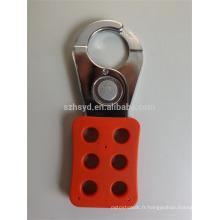 Tamper acier isolant résistant antidéflagrant Isolation sécurité lockout hasps