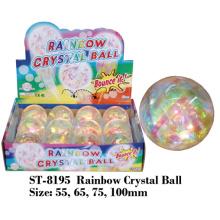 Regenbogen-Kristallball