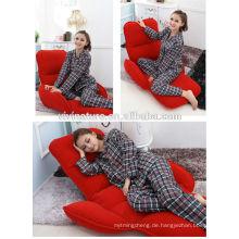 Justierbares Repel Wasser-Wohnzimmer-Beinloses einfaches tragendes bequemes faltendes Bett-Art-Sofa