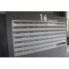 Buzón de correo al aire libre para montaje en pared