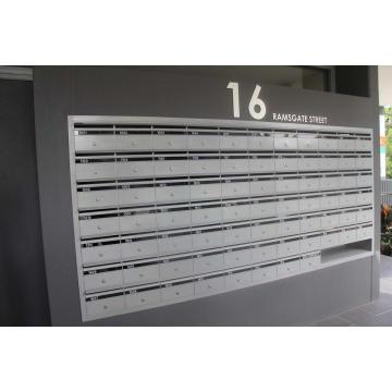 Briefkasten für die Wandmontage im Freien