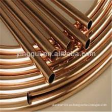 C10100 tubos de cobre para aplicaciones industriales