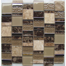 New Pattern Glass Mosaic Wall Tile, Crystal Glass Mosaic (HGM372)