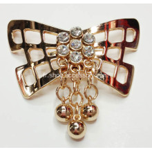 Butterfly Design Chaussures Accessoires, Sparking Chaussures Boucles, pinces à chaussures