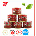 Venta al por mayor de alta calidad de pasta de tomate conservada