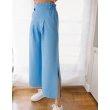 2020 venta caliente pantalón ancho con hebilla