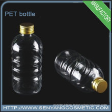 PET plastic cylindrical bottle Mineral water bottle