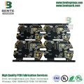 Black Ink 6 Layers IT180 High TG PCB ENIG Thick Gold BGA