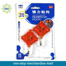 Household plastic display hooks adhesive