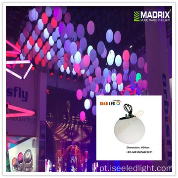 Milky 50cm dmx 3D LED Magic Ball evento